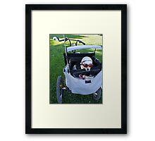 Chihuahua, the Biker Babe  Framed Print