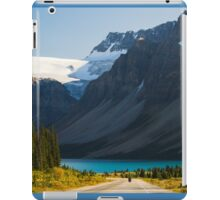 Riding the Icefields Parkway iPad Case/Skin