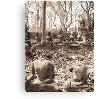Headless Buddha Canvas Print