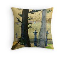 From Darling Point Twds Point Piper on an Overcast Day Throw Pillow