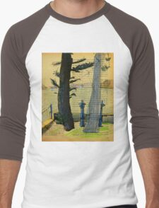 From Darling Point Twds Point Piper on an Overcast Day Men's Baseball ¾ T-Shirt