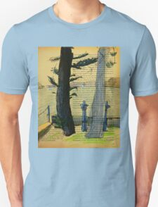 From Darling Point Twds Point Piper on an Overcast Day Unisex T-Shirt