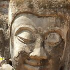 Buddha Head by Tim Topping