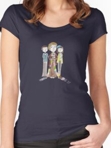 Doctor Who - Harry Sullivan Is A Genius, Actually Women's Fitted Scoop T-Shirt