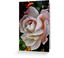 Raindrop Kisses. Greeting Card