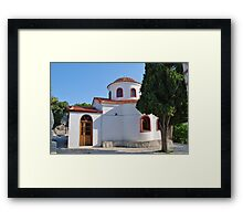 Agios Nikolaos church, Skiathos Framed Print