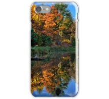 Fall Reflection Landscape iPhone Case/Skin