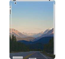 The Most Scenic Road of the World - Icefields Parkway - Alberta Highway 93 north iPad Case/Skin