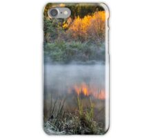 Cold Fire Sunrise Landscape iPhone Case/Skin