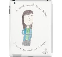 Parks and Recreation - April Ludgate iPad Case/Skin