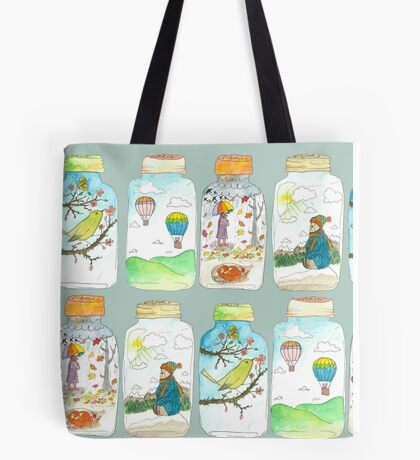 Season in the jar Tote Bag
