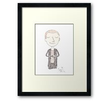 Doctor Who - Ninth Doctor Framed Print