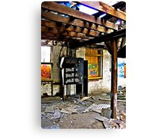 """""""Old Switchboard"""" Canvas Print"""