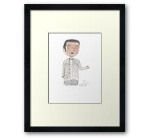Doctor Who - Mickey Smith Framed Print