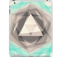 Jewel Lines 2 - Jade & Charcoal iPad Case/Skin