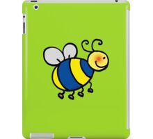 Cute bumblebee cartoon iPad Case/Skin