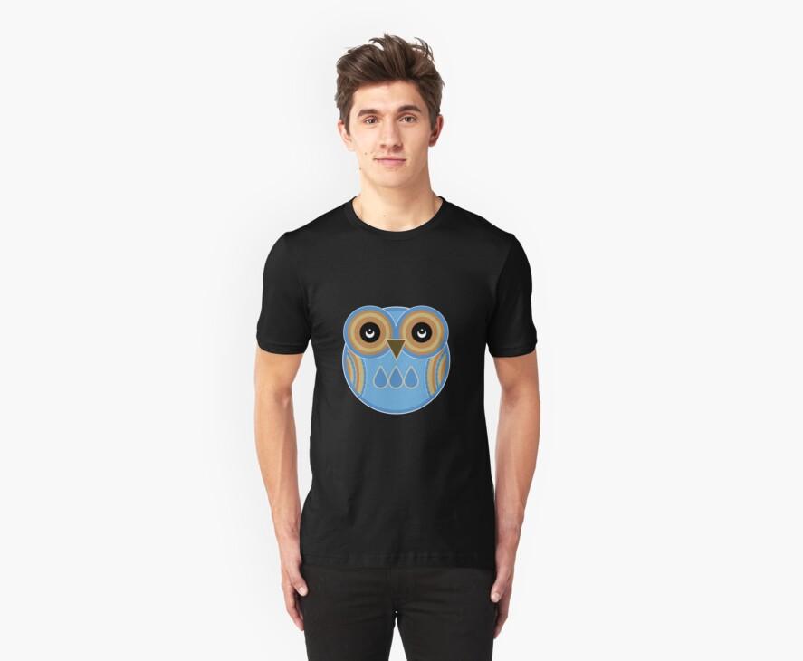 Blue Owl by Louise Parton