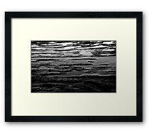 Pools of Rock Framed Print