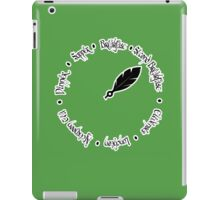 "Hobbit Eating Times - ""But what about second breakfast?"" iPad Case/Skin"