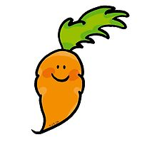 Sweet veggie carrot cartoon by CuteCartoon