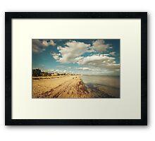 Port Melbourne Beach Framed Print