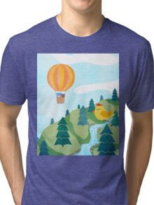 Happy Forest Tri-blend T-Shirt