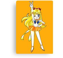 Sailor Venus V for Victory Canvas Print