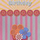 Birthday Card by Tanja Udelhofen