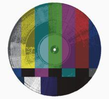 """Off the Air"" Visual Vinyl by Phillip J. Mellen"