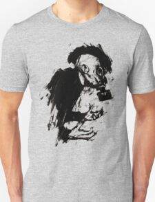 The Lonely Hunter (Ink/Brush Version) T-Shirt