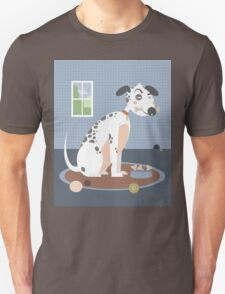Dog with a bone in his mouth T-Shirt
