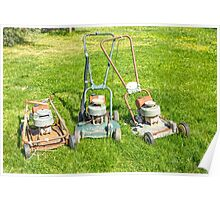The Old Victa Mowers..... Poster