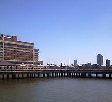 Jersey City Jettison by Michael Degenhardt