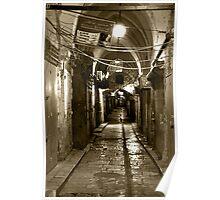 Light in Jerusalem - When Night Enveloped the Old City  Poster