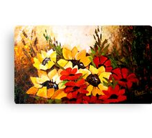 yellow blossoms Canvas Print