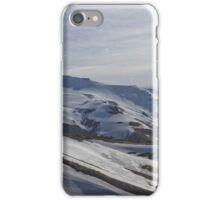 White Mountainside iPhone Case/Skin