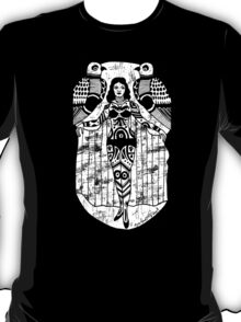 Tattoo Lady with Birds T-Shirt