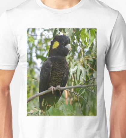 Yellow-tailed Black-Cockatoo  Unisex T-Shirt