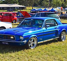 1968 California Special Mustang by TGrowden