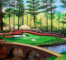 12 AT AUGUSTA by Terry Huey