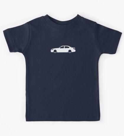 E60 German Luxury Sedan Kids Tee