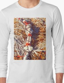 Discarded fishing nets and rope Long Sleeve T-Shirt