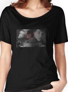 Sherlock Holmes & Jim Moriarty- Sheriarty Women's Relaxed Fit T-Shirt