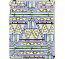 aztec triangle iPad Case/Skin