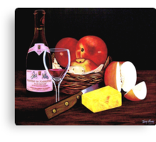 Apple Still Life Canvas Print