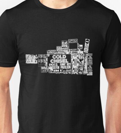 Cold Chisel, INXS Unisex T-Shirt