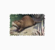 Painting of The Coypu, also known as the River Rat or Nutria.  Unisex T-Shirt