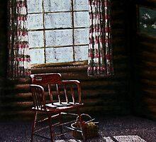 Cabin Window by Janet Rawlings