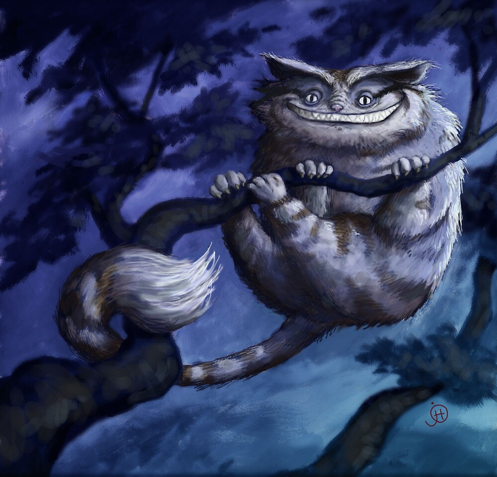Cheshire Cat - That Knowing Smile by joehox