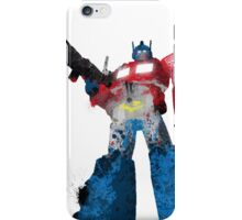 Optimus Prime - Splatter Art iPhone Case/Skin